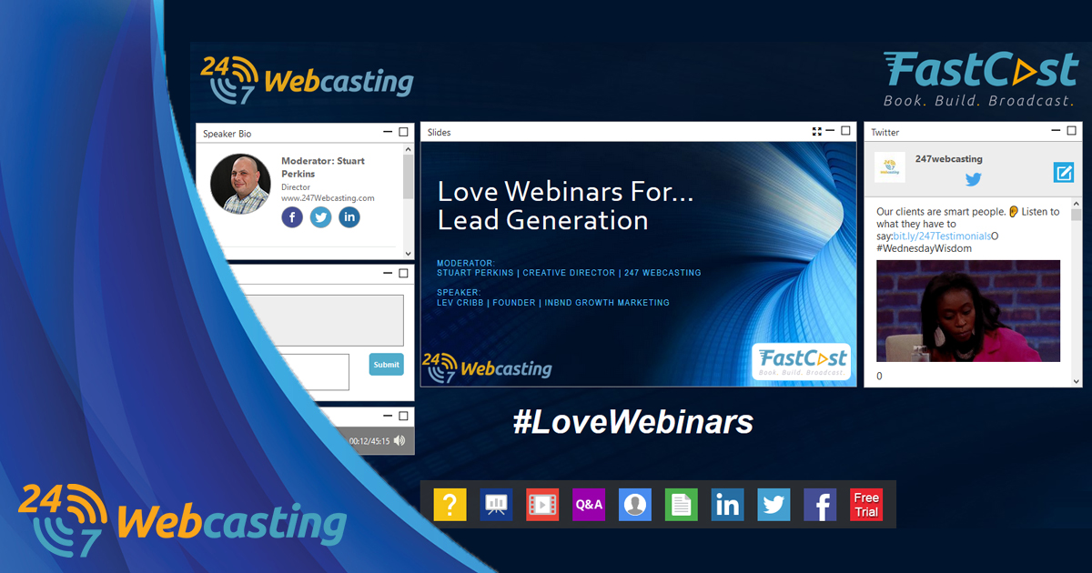 Introducing FastCast from 247 Webcasting