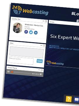 Webinar: Six Expert Webinar Hacks
